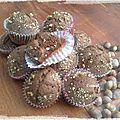 Muffin choco-noisette