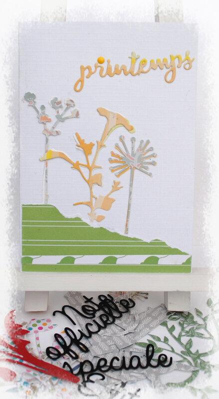 Roselyne, carte de printemps