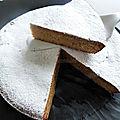 Torta camilla di carote, italie (gâteau de carotte à l'amande et à l'orange)
