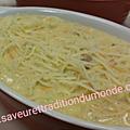 Cassolette au saumon