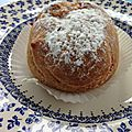 Chronique gourmande de <b>L</b>'<b>Elan</b> - le coefficient de remplissage des choux à la crème