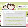 Relooking blog#2: justine et la boutique petits pois