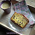 Cake au sirop d'érable et aux myrtilles