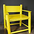 Gris anthracite & jaune ... l'envie