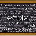 Infos: Message des enseignantes et message du services des affaires scolaires.