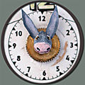 Le trophée à tête d'âne du réveil de Rufus