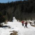 Dernière sortie en ski