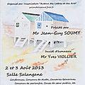 Salon de noirmoutier - 02 et 03 août 2013