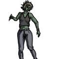 Zombie fumelle