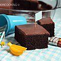 Gâteau au chocolat et aux bananes