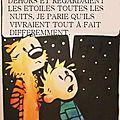 <b>Calvin</b> et <b>Hobbes</b> admirent le ciel