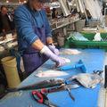 La préparation des filets