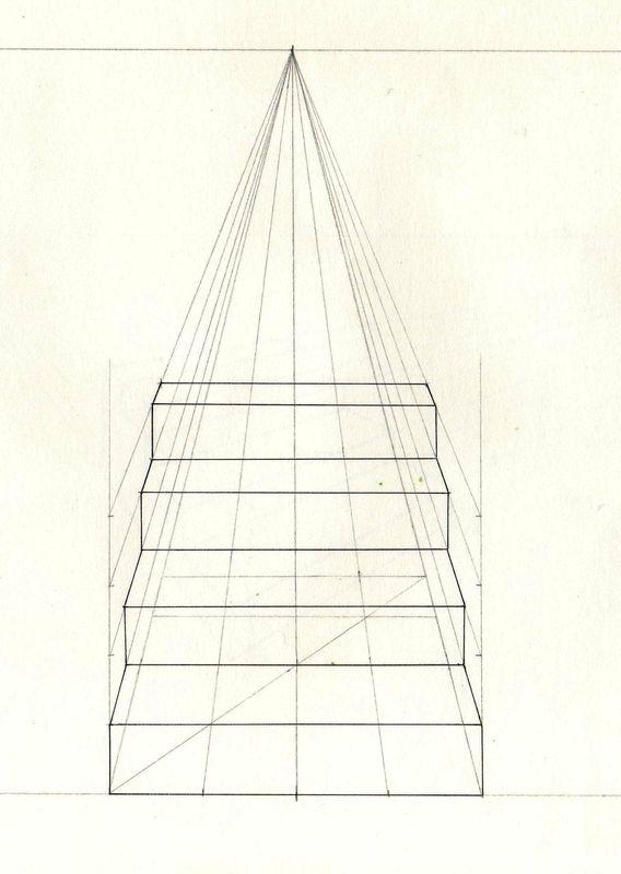 escaliers en perspective dessinateur illustrateur de bd. Black Bedroom Furniture Sets. Home Design Ideas