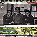 trésorerie du 4ème cuir, 1982.