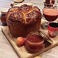 Confiture d'abricots et fraises à la vanille bourbon !