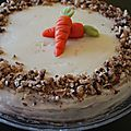 Carrot cake & cream cheese