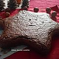 Gâteau chocolat-noisettes