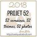 Projet52 2018