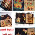 carnet textile café créa