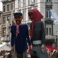 Les festivités du 15 août à Liège (quartier Outremeuse)