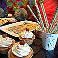 Sweet table d'anniversaire - <b>Buffet</b> <b>sucré</b> avec pâtisseries assorties