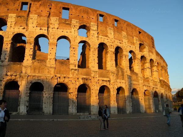 Roma 2011 Colisee soleil