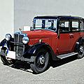 Morris ten four saloon de 1934 (serie 1 1933-1935)(RegioMotoClassica 2011) 01