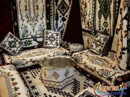 Le tissage à travers les régions de l\'Algérie - La passion de l\'Algérie