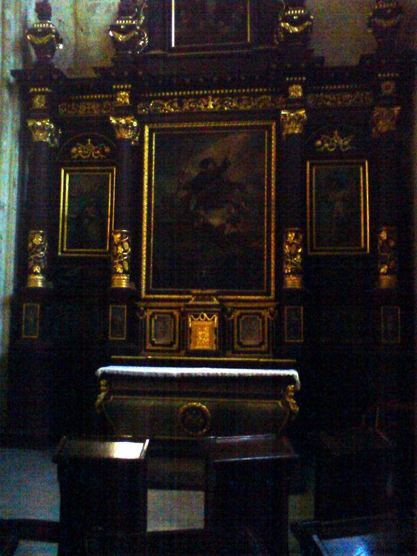 Basilique St Michel, chapelle St Jacques