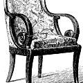 Descriptif et plan d'un fauteuil <b>Louis</b> <b>Philippe</b>