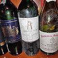 CDP : Beaucastel 1989, Rostaing : La Landonne 2005, Romain Papilloud : Volupté Ermitage Grain Noble 2006