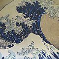 Hokusai croque l'âme bleue des japonais
