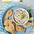Rillettes marines & crackers #vegan