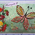 Quilling papillon10