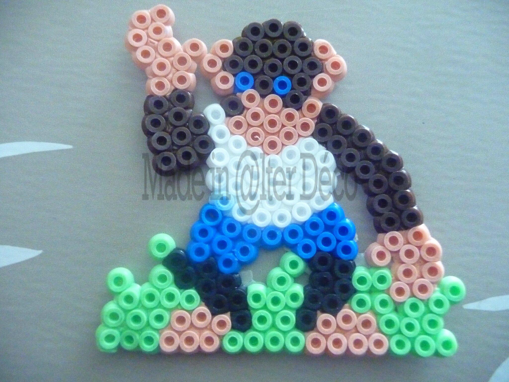singes en perles à repasser