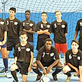 Tournoi futsal juniors pro a mercredi 19 novembre