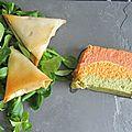 Terrine tricolore de légumes