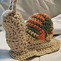 The serial crocheteuse # 98 l'escargot