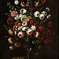 Jean-Baptiste Monnoyer (1636 Lille - 1699 London), <b>Flowers</b> <b>in</b> <b>a</b> <b>Vase</b>