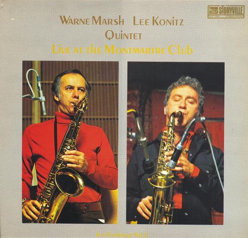 Warne Marsh Lee Koonitz Quintet - 1975 - Jazz Exchange, Vol