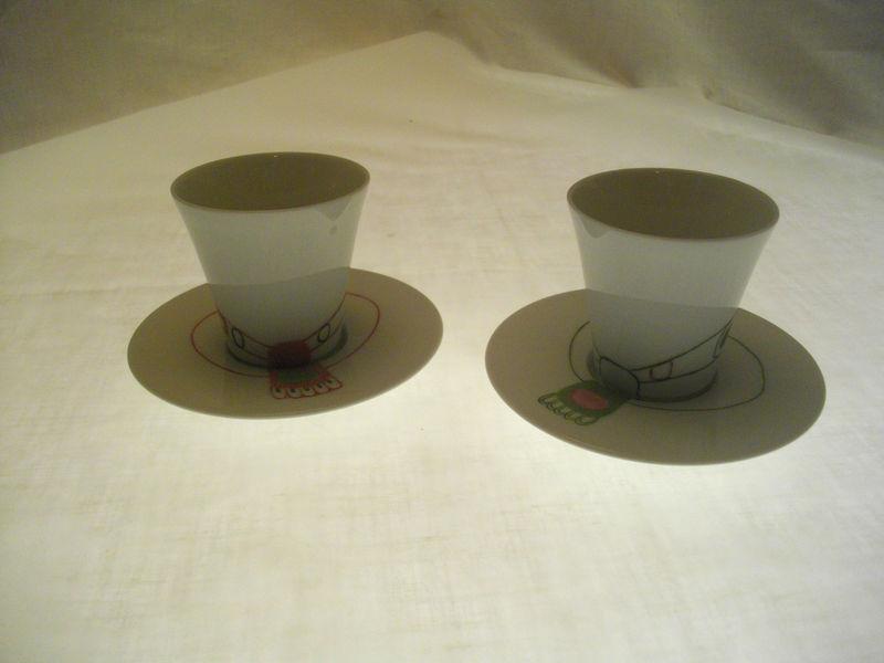 Deux tasses moka bis