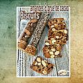 <b>Biscuits</b> amandes & grué de cacao