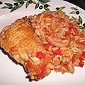 Jimbalaya de poulet