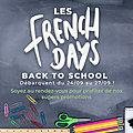 LES FRENCH DAYS SONT BIENTOT DE RETOUR
