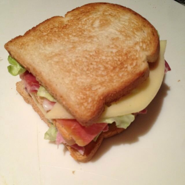 Le club sandwich de Enza