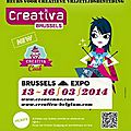 Salon créativa bruxelles 2014