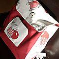 30. sac à dos enfant - rouge et souris