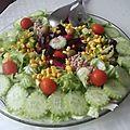 Ma salade du jour!!