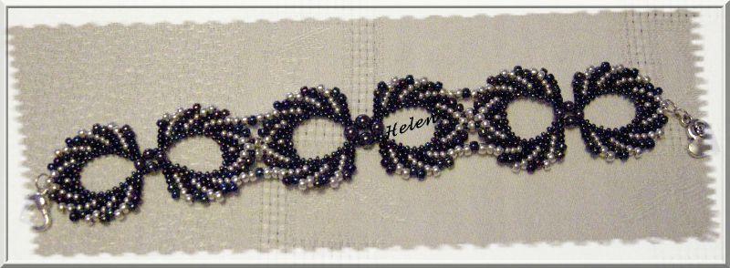bracelet perle de rocaille patron