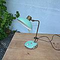 Lampe de table des années 60